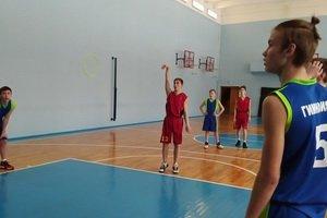 Городские соревнования по баскетболу